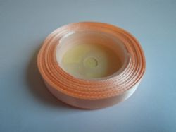 Light Peach Satin ribbon, 13 metres, Single sided, 6mm 12mm 24mm 48mm 100mm Rolls,
